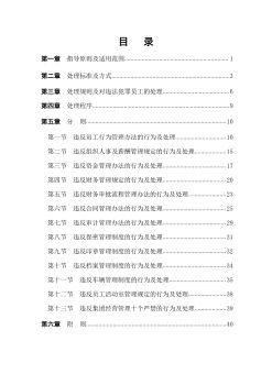 11.7南召源达集团员工违规行为处理办法电子画册