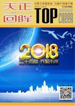 2018天正年刊宣传画册