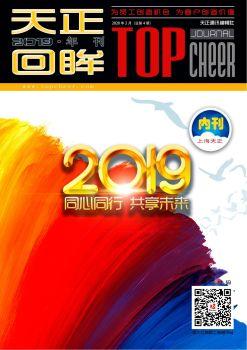 上海天正2019年刊电子画册