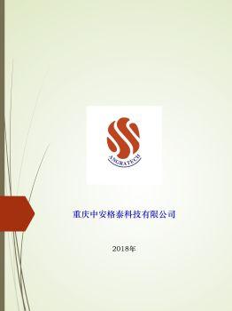 中安格泰科技公司介绍PDF2018(彩页)电子画册