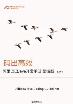 阿里巴巴《Java开发规范手册》,FLASH/HTML5电子杂志阅读发布