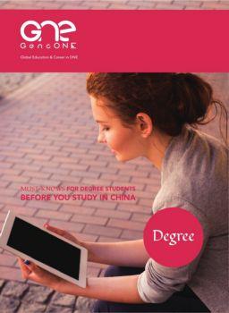 GencONE Handbook for Degree Students Study in China