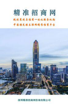 精准招商网:规划策划与招商一体化服务机构,中国领先的互联网招商平台电子画册