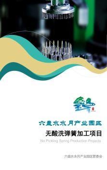 六盘水水月产业园区无酸洗弹簧加工项目电子画册