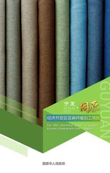 宁夏固原经济开发区亚麻纤维加工项目 电子书制作软件