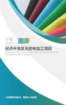 宁夏固原经济开发区无纺布加工项目 电子书制作软件