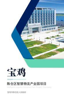 宝鸡市陈仓区智慧物流产业园项目电子画册