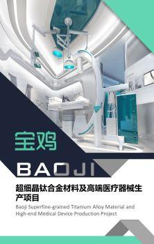 宝鸡市超细晶钛合金材料及高端医疗器械生产项目电子书