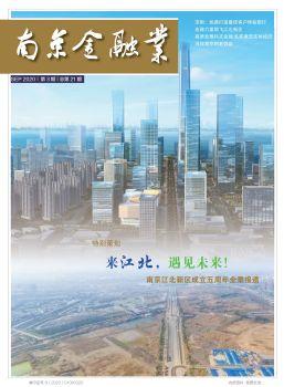 《南京金融业》2020年第3期宣传画册