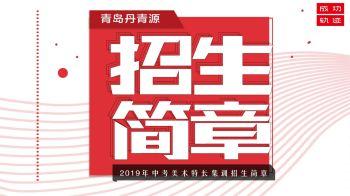 丹青源画室2019中考美术特长集训招生简章电子宣传册