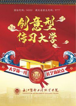 2020年长江艺术工程职业学院招生简章(折页)电子宣传册