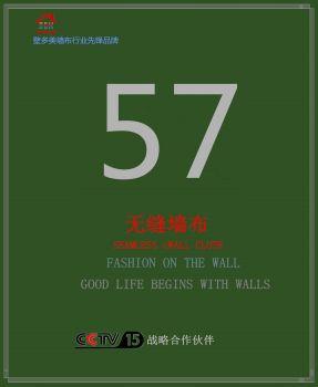 壁多美57号高精密素色暗花无缝墙布   定高:3.10米宣传画册