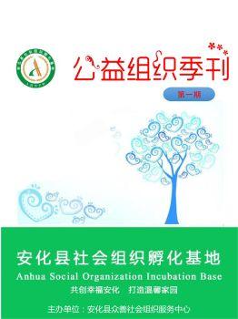 安化县社会公益组织季刊2017季刊