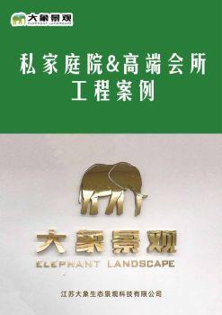大象景观案例电子刊物