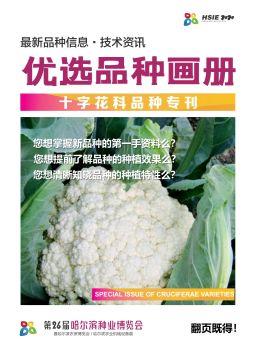 【第八期】哈尔滨种业博览会优选品种画册-十字花科品种专刊 电子书制作软件