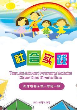 社会实践活动纪念册正文-电子书版