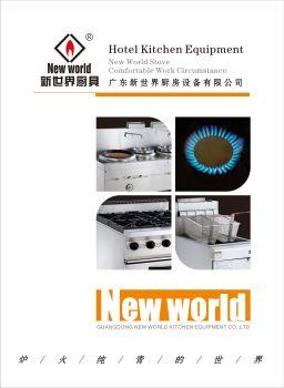 新世界(厨房设备)图册,翻页电子画册刊物阅读发布