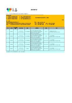 1-8点高灵敏度电容式水位检测专用触控IC电子宣传册
