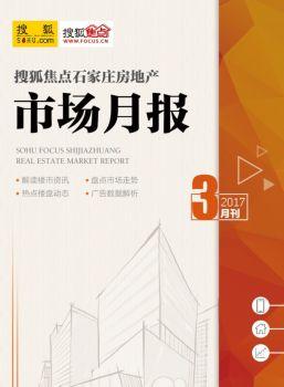 搜狐焦点石家庄3月房地产市场月报电子画册