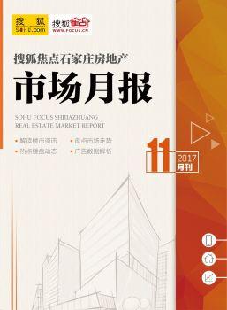 搜狐焦点石家庄11月市场月报电子画册