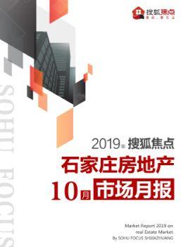 搜狐焦点石家庄10月市场月报电子画册