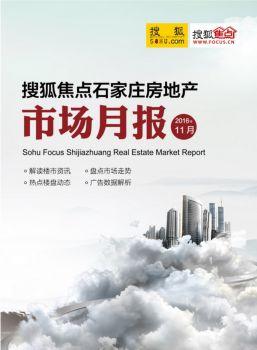 搜狐焦点石家庄11月房地产市场月报电子画册