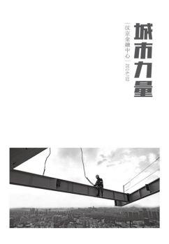 城市力量(第二辑)宣传画册