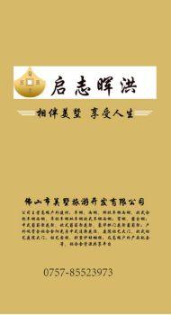 启志晖洪棚子系列电子杂志