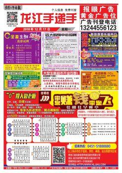 12月17日-龙江手递手电子画册