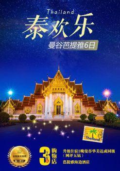 11-12月DMK【泰欢乐】曼谷芭提雅5晚6日SL【长沙直航】 电子书制作平台