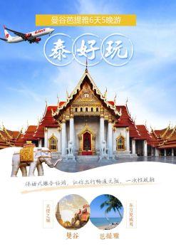 11-12月DMK 【泰好玩】曼谷芭提雅5晚6日SL【长沙直航】 电子杂志制作平台
