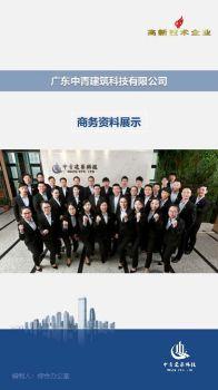 中青建筑科技商务资料电子杂志