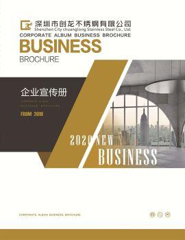 深圳市創龍不銹鋼有限公司(企業宣傳冊) 電子書制作軟件