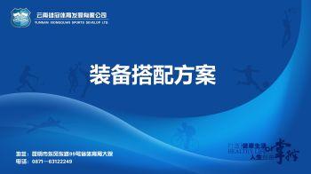 气排球、乒乓球、羽毛球装备方案.pptx宣传画册