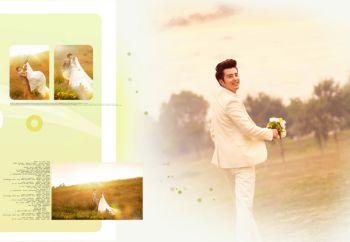 我们结婚了宣传画册