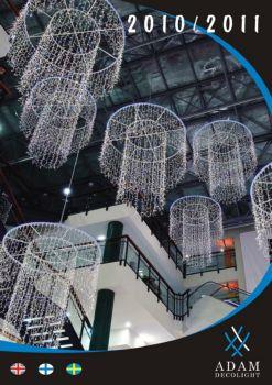 8312 商场橱窗街道圣诞节庆LED灯饰装饰电子画册