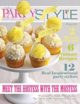 6177 国外儿童生日派对装饰杂志