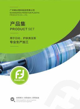 广州峰云塑料压泵电子画册 电子书制作软件