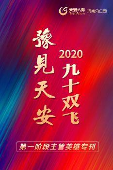 """《豫见天安》2020年""""九十双飞""""第一阶段主管英雄专刊电子宣传册"""