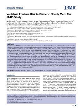 研究BMI与椎体骨折风险的相关性电子画册