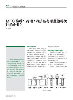 MFC推荐冷锻冷挤压有哪些值得关注的企业?-金属板材成形2019年第六期电子宣传册
