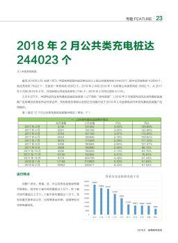 2018年2月公共类充电桩达244023个-金属板材成形2018年第五月杂志