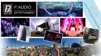 ALL catalogue P.AUDIO Entertainment 2021电子宣传册