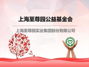 至尊园集团 · 上海至尊园公益基金会简介电子画册