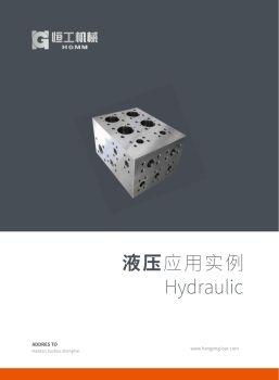 恒工机械—阀块中文画册,在线数字出版平台