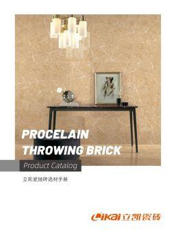 立凯地砖系列产品手册