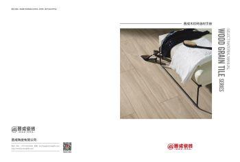 晋成木纹砖产品画册