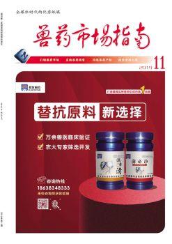 网刊同版2019.11兽药市场指南电子刊物