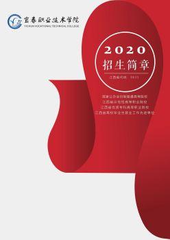 宜春职业技术学院2020年招生简章 电子书制作软件