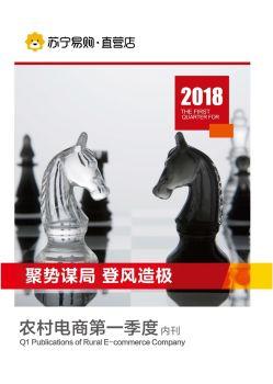 2018农村电商一季度内刊